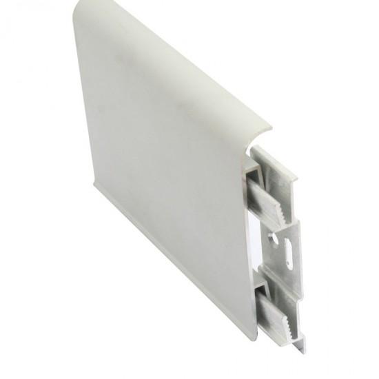 KAC - Battiscopa in alluminio ad incastro