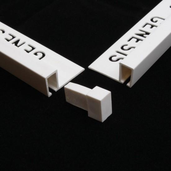 PVC 2 way corner pieces