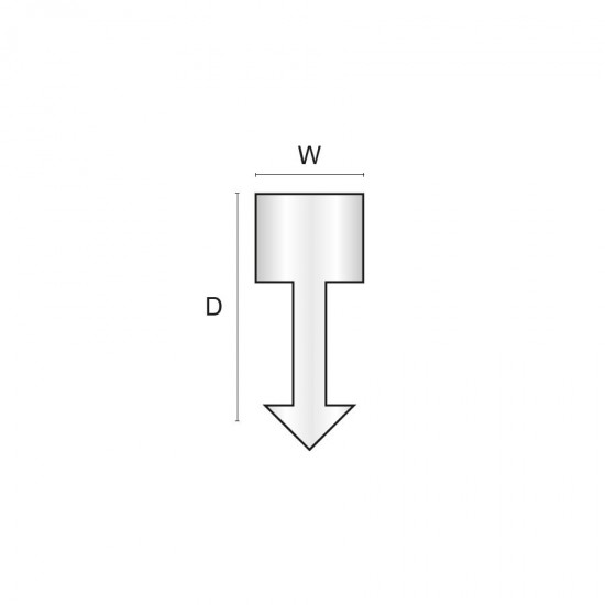 Brass dividing strip