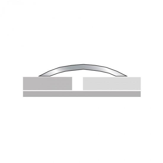 Aluminium threshold cover