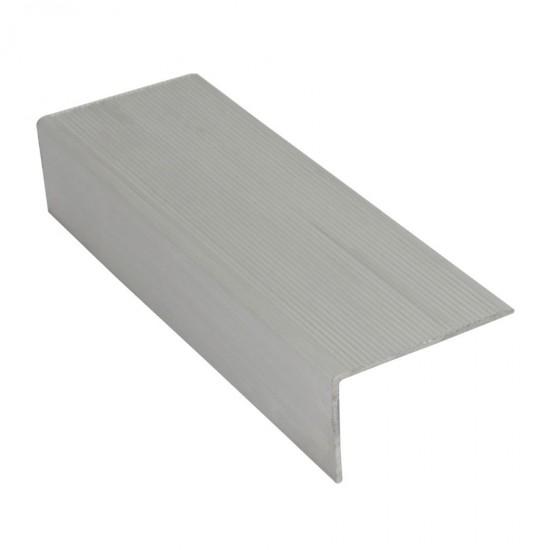 Terminale per gradini in alluminio