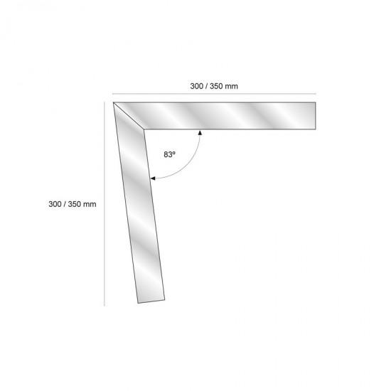 Bordura preforata laterale