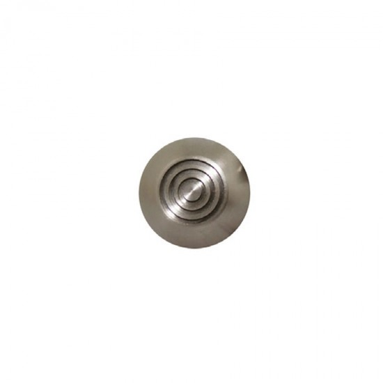 Pathway stainless steel circle tactile - shanked