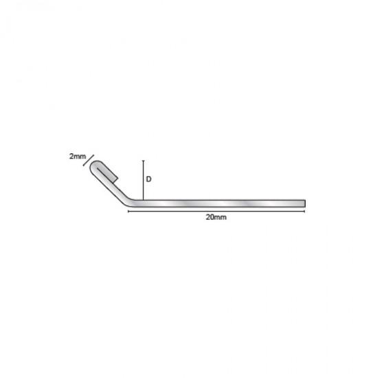 ETS - Profilo angolare in alluminio