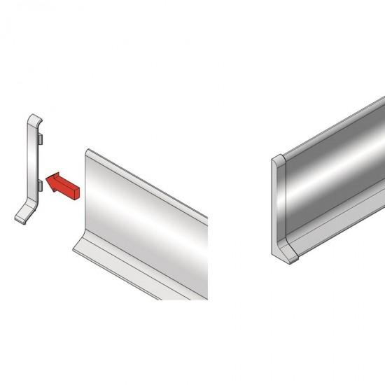 KLE - Left end cap for KAA600/KAS600