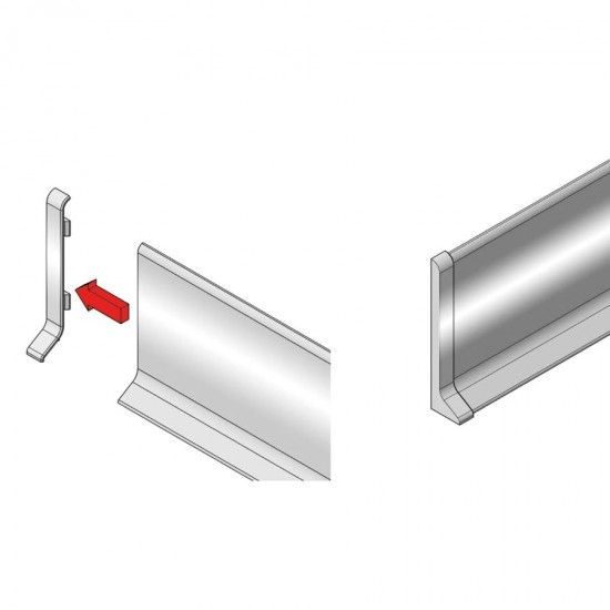 KRE - Right end cap for KAA600/KAS600