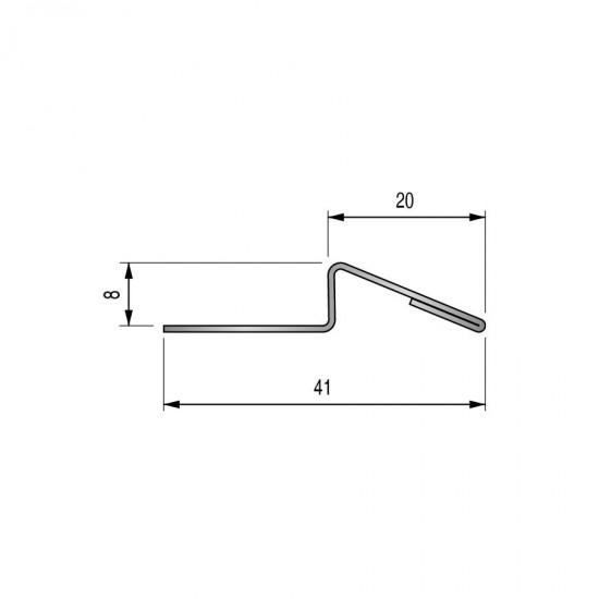 Stainless steel ramp