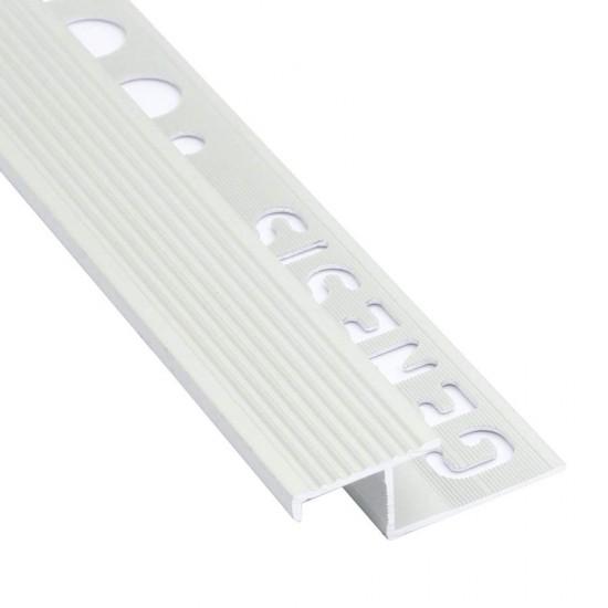 Terminale antiscivolo in alluminio